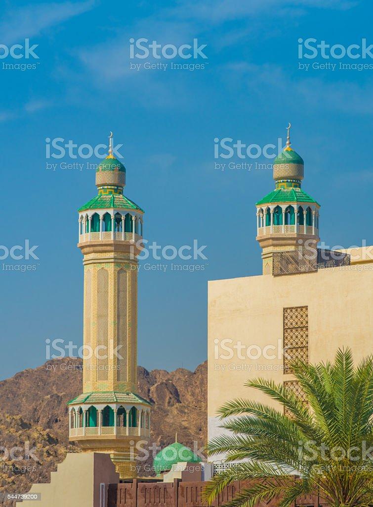 Mutrach, Muscat, Oman stock photo