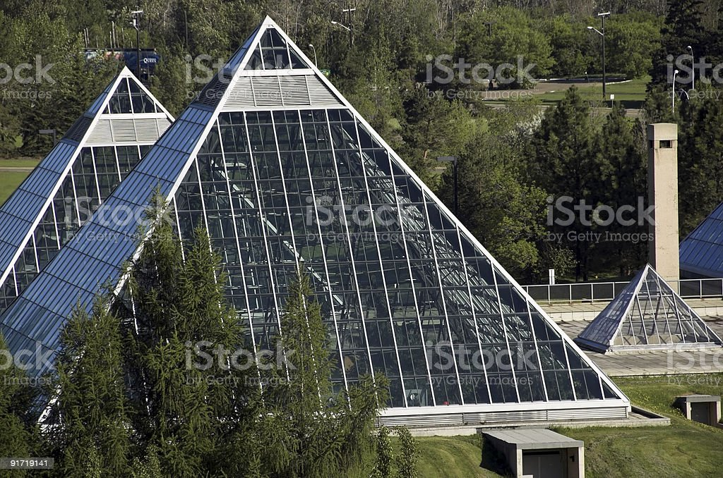muttart conservatory royalty-free stock photo