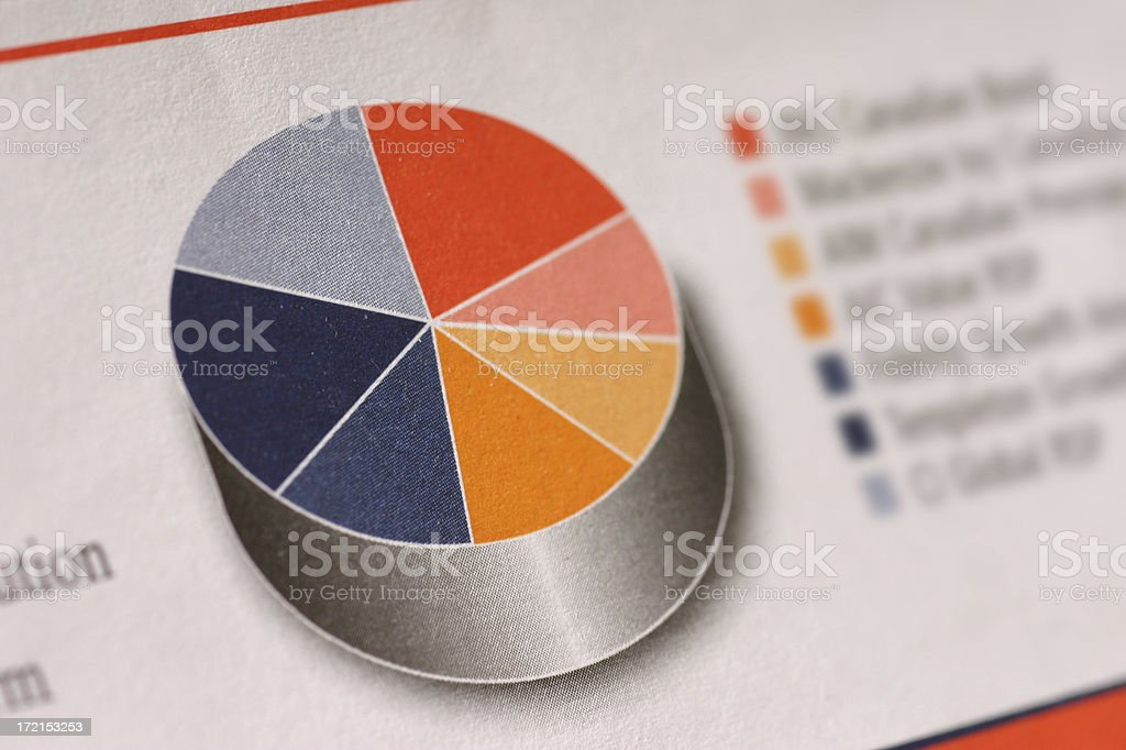 Mutual Funds royalty-free stock photo