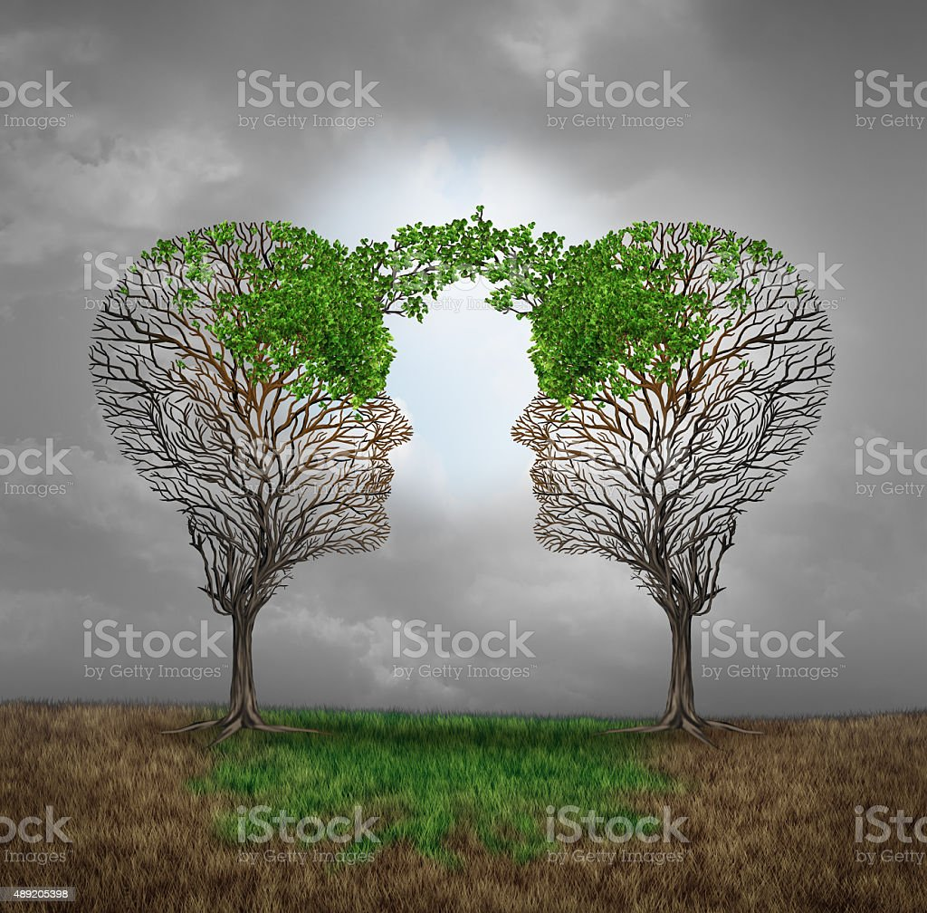 Mutual Support stock photo
