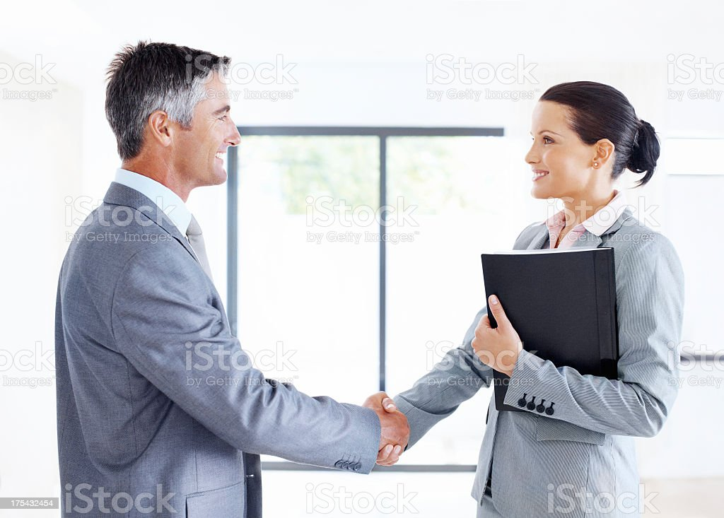 Mutually beneficial business relationships royalty-free stock photo