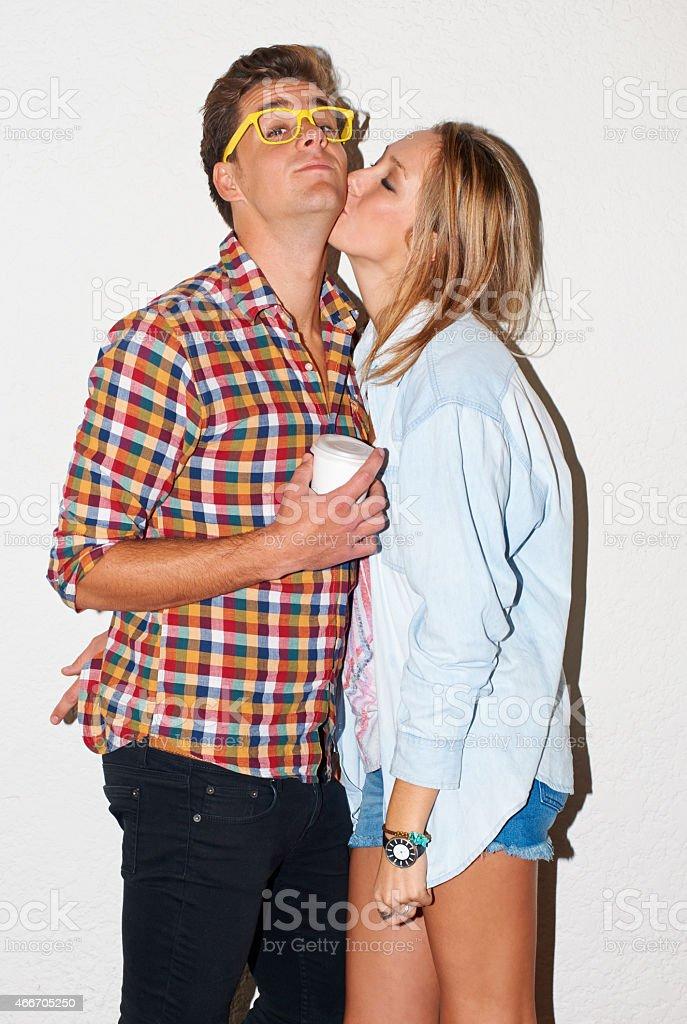 Mwah! stock photo