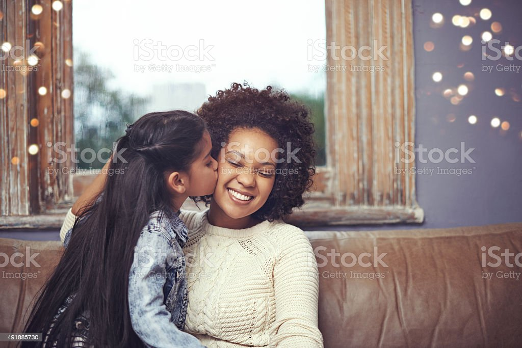 Mwah! stock photo