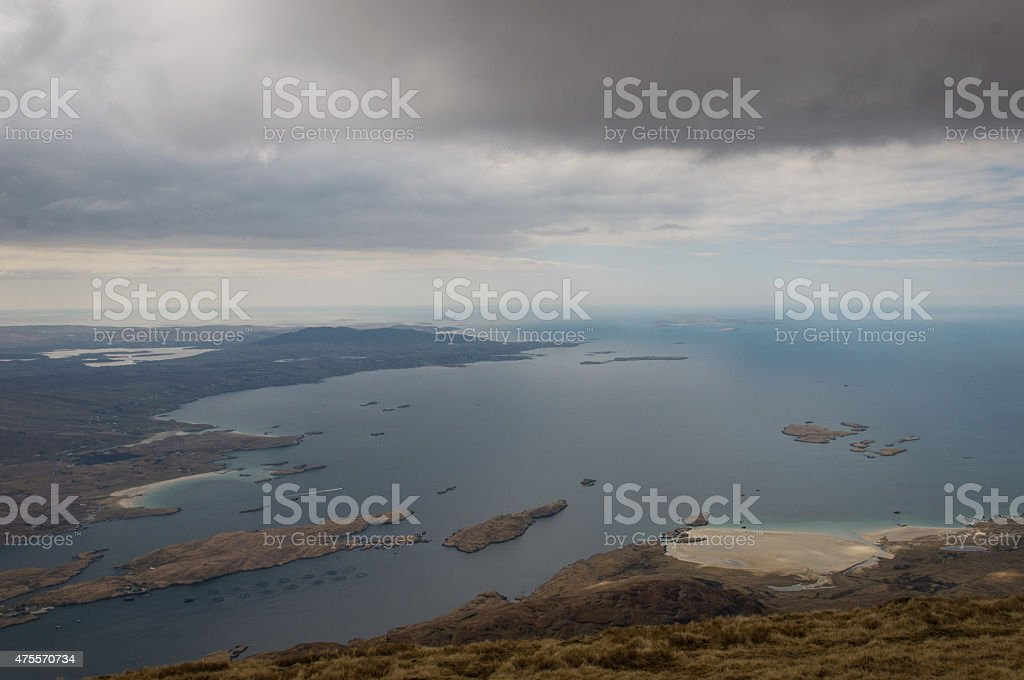 Mweelrea, Irland royalty-free stock photo