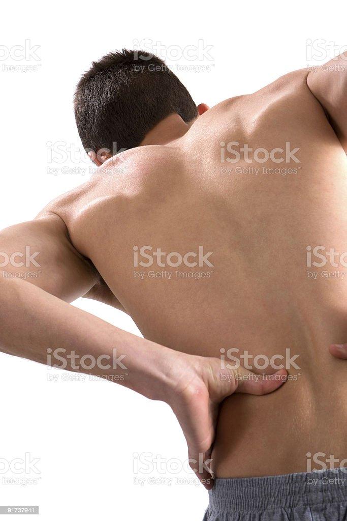 My Aching Back stock photo