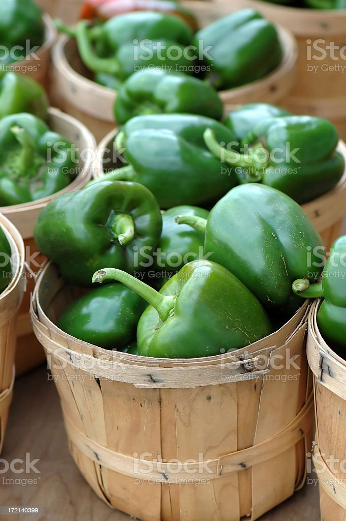 my baskets runneth over stock photo