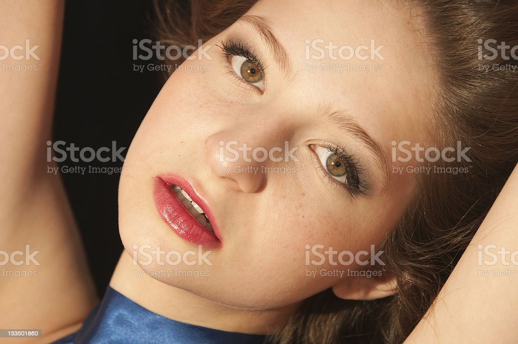 My beautiful face royalty-free stock photo