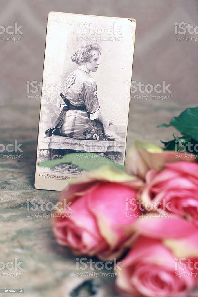 My beautiful grandmother royalty-free stock photo