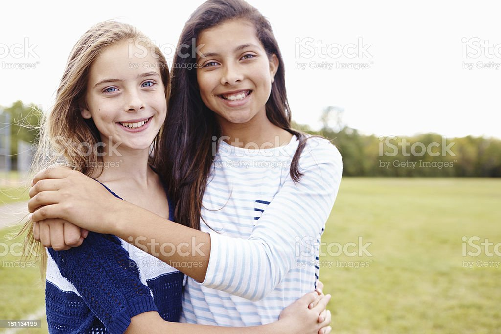 My best friend in the whole world! royalty-free stock photo
