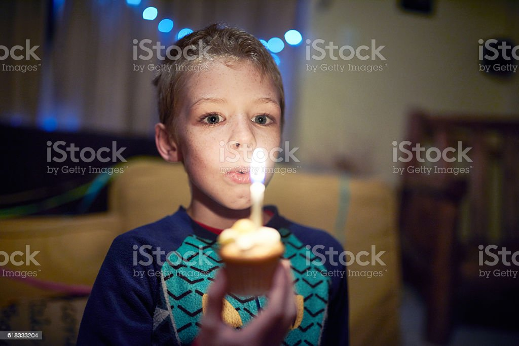 My birthday is only getting started stock photo