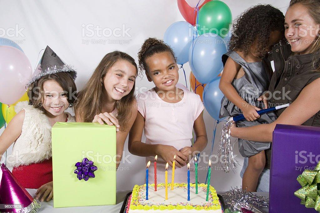 My Birthday Party royalty-free stock photo