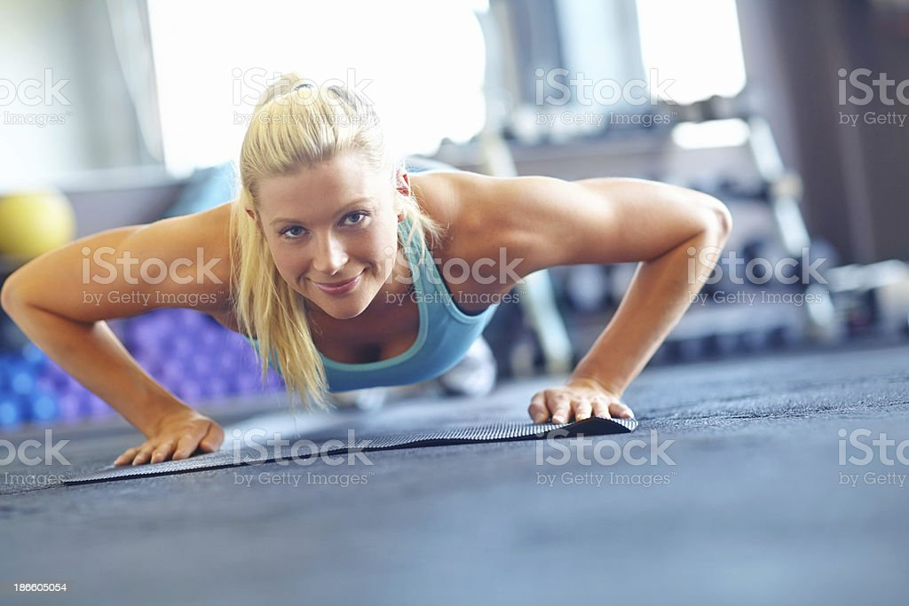 My body deserves to be treated well royalty-free stock photo