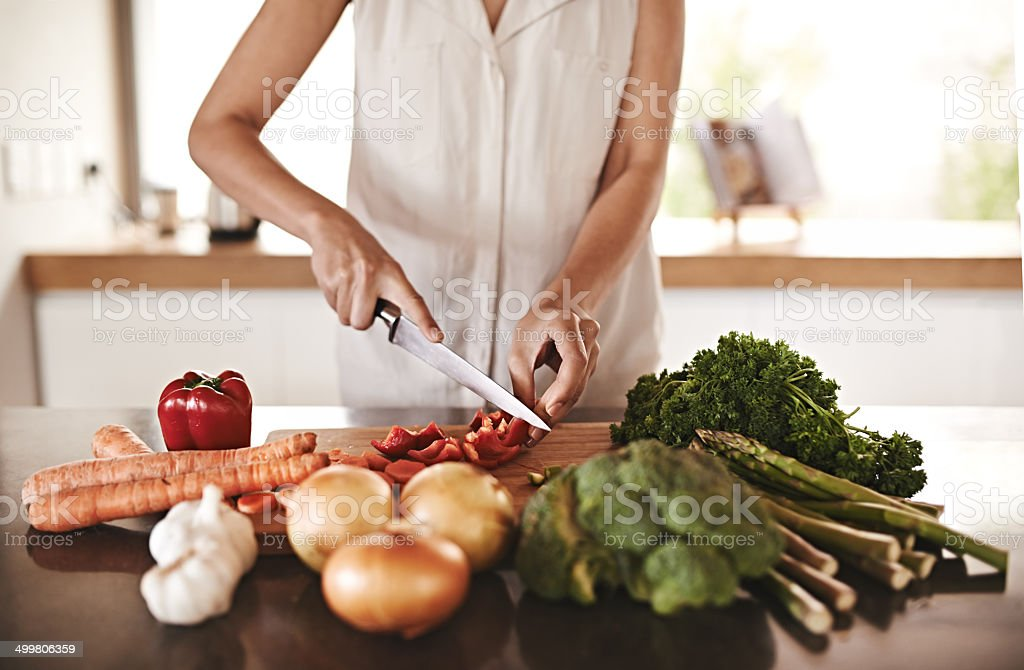 My body will thank me later! stock photo