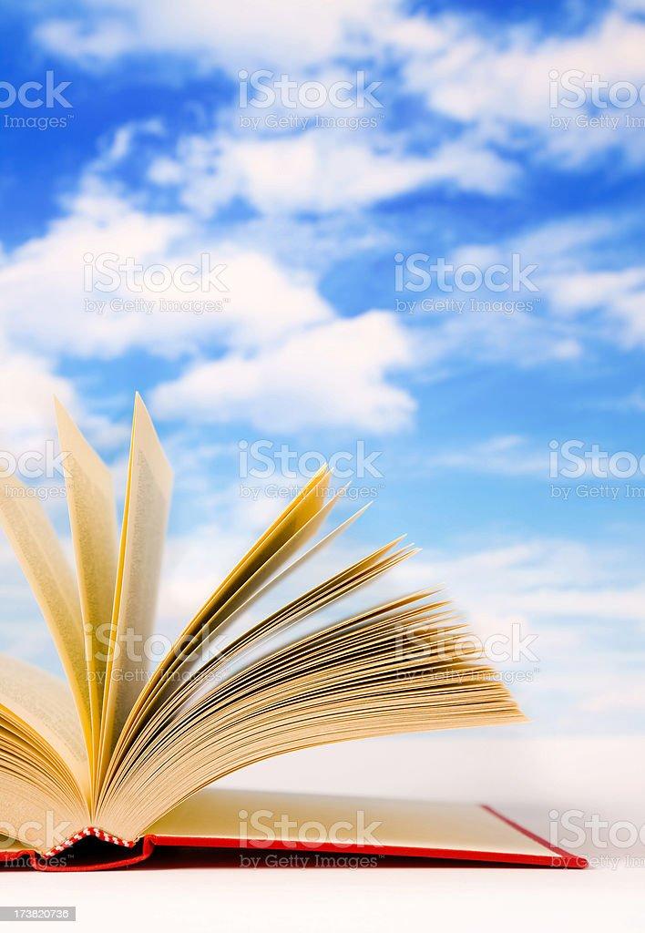 My Books (sky) royalty-free stock photo