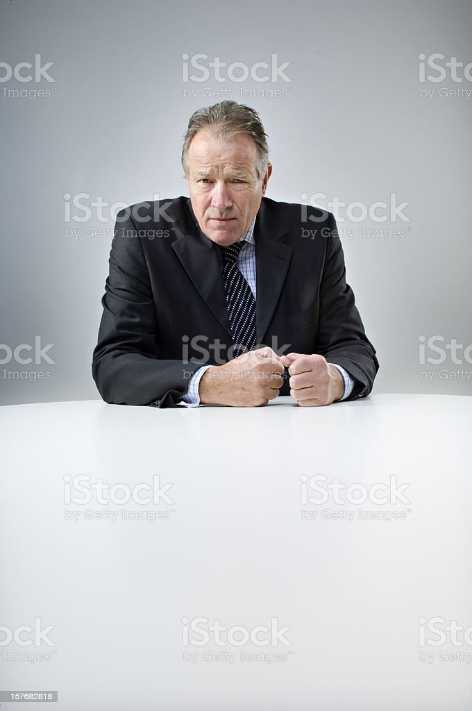 My Boss Doesn't Like Me Anymore royalty-free stock photo