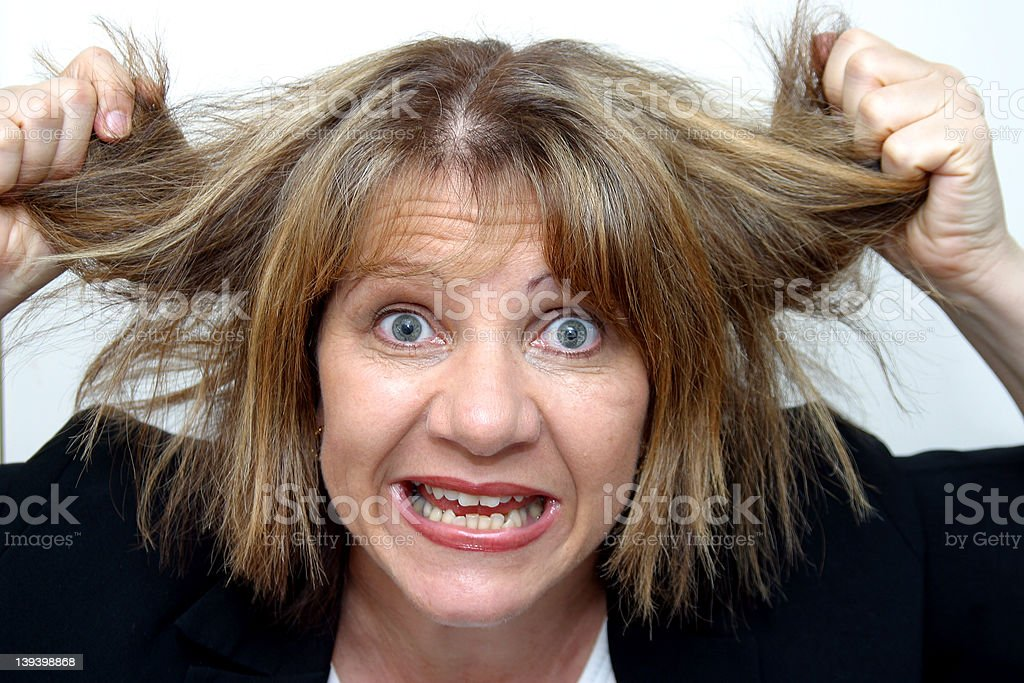 My Boss Is Driving Me Nuts!! royalty-free stock photo