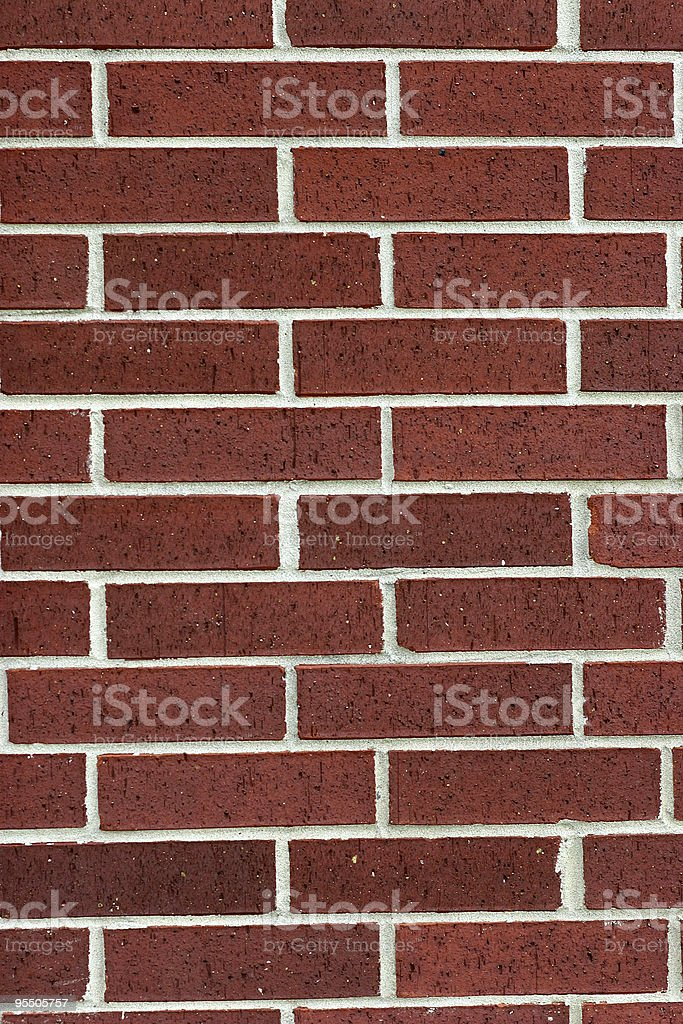 My brick is better than your brick. stock photo