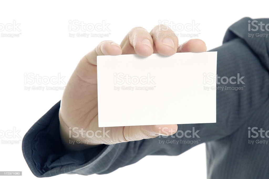 My Business Card royalty-free stock photo