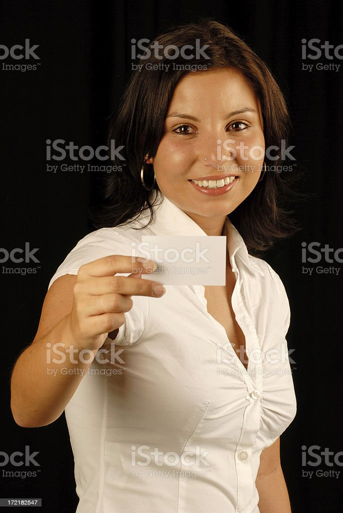 My Businesscard royalty-free stock photo
