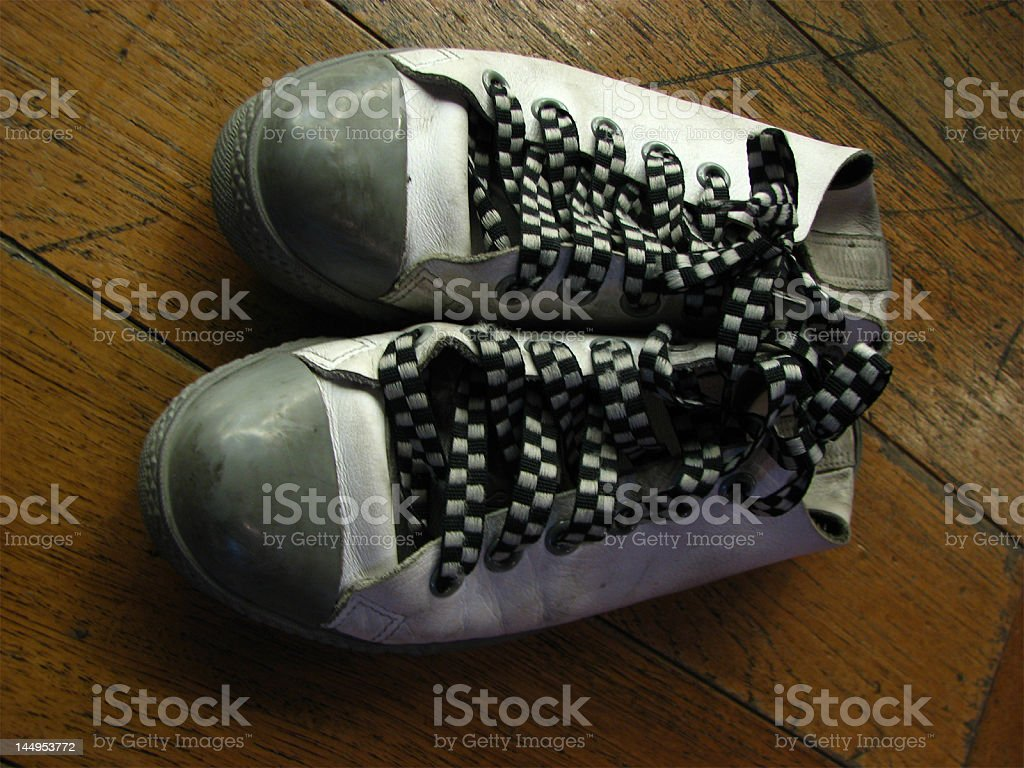 My Canvas Shoes royalty-free stock photo