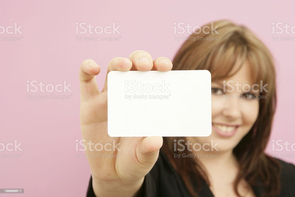 My Card! royalty-free stock photo