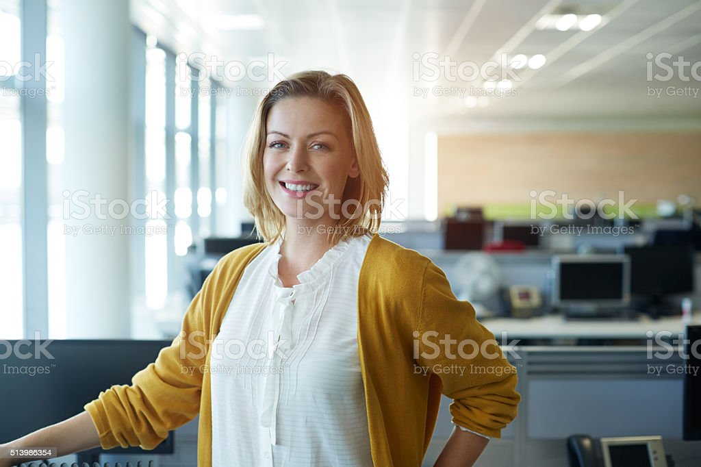 My career is trending! stock photo