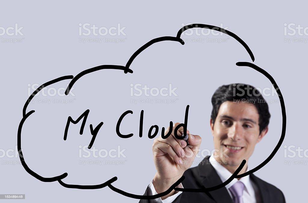 My cloud stock photo