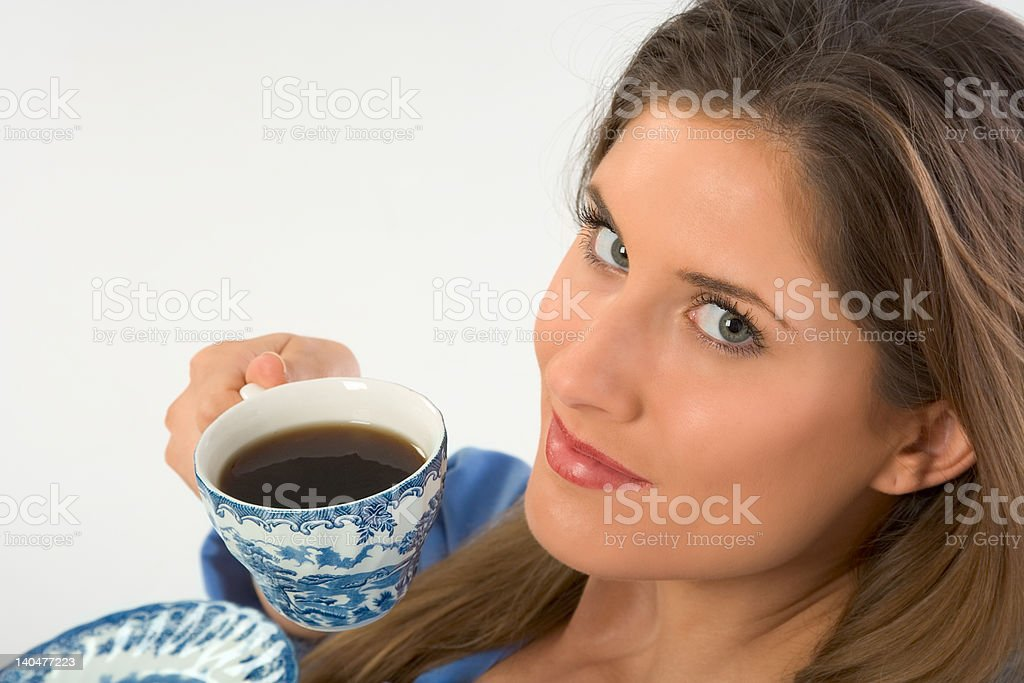 My Coffee royalty-free stock photo