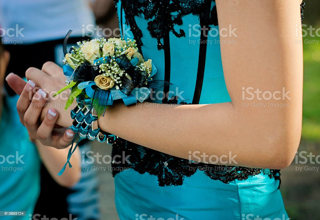 my corsage stock photo