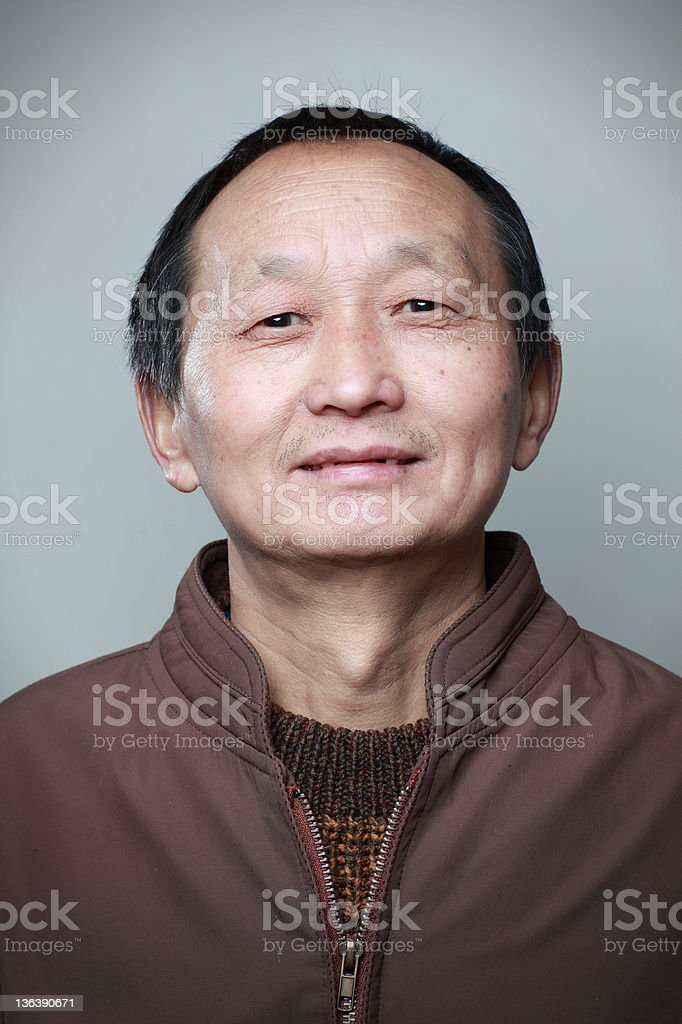 My Dad royalty-free stock photo