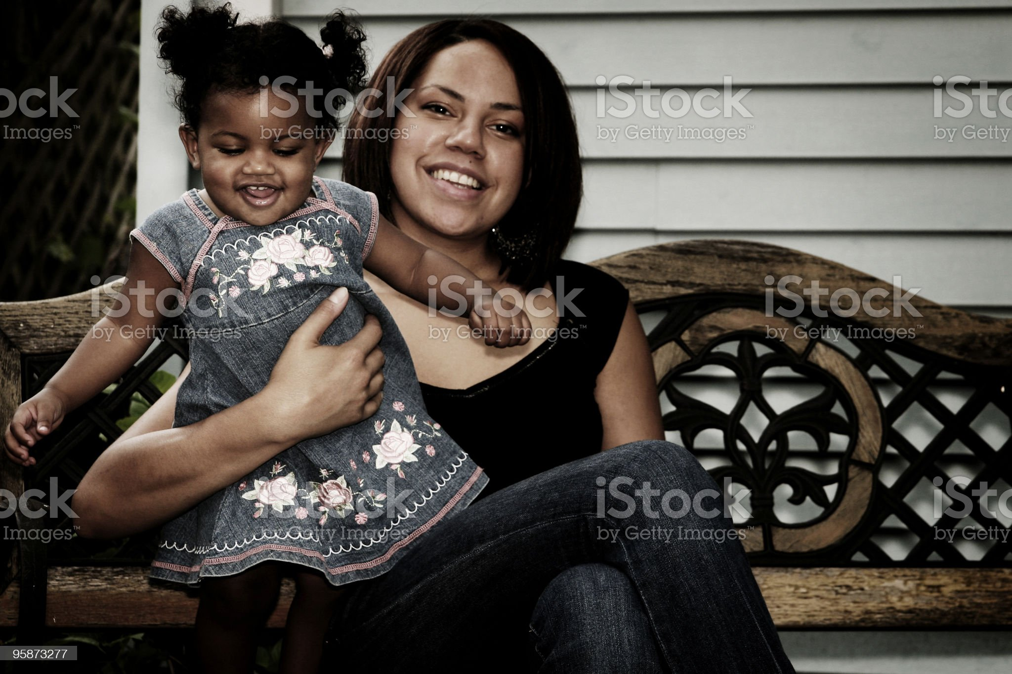 my daughter royalty-free stock photo