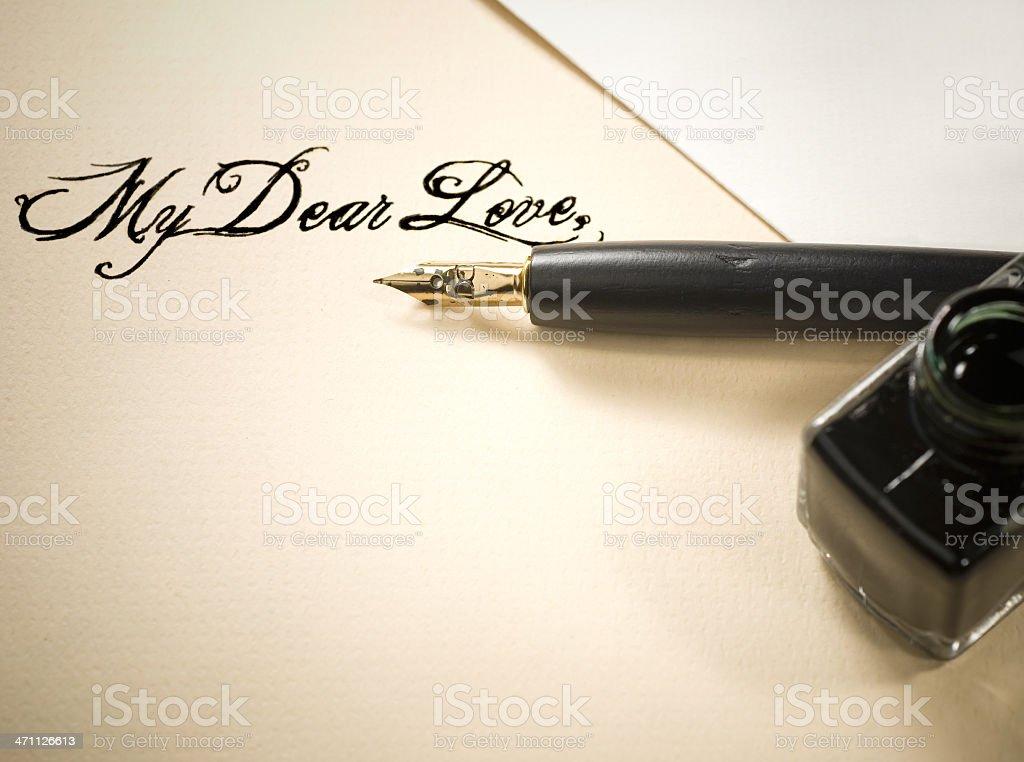 My dear love stock photo