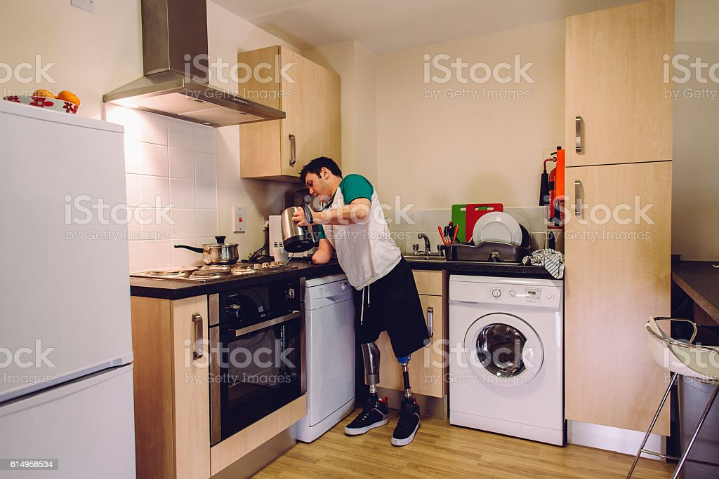 My disability cannot stop me stock photo
