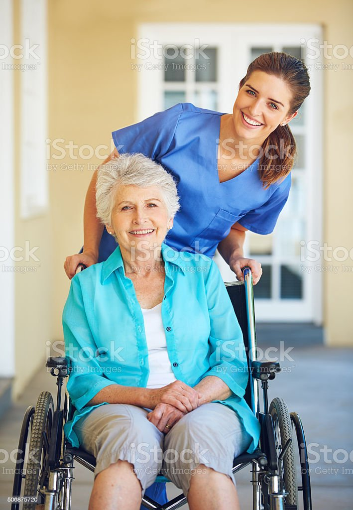My doctor has a heart of gold stock photo