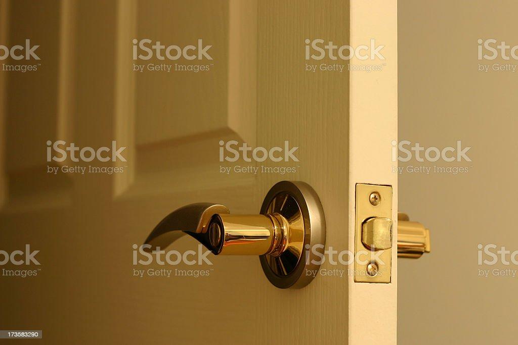 My door handle part 1 royalty-free stock photo