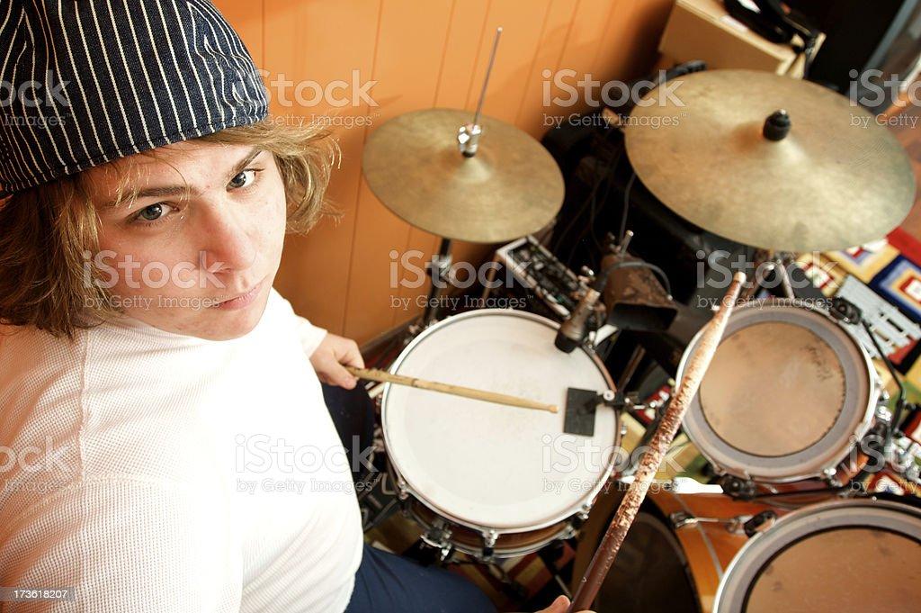 my drumset stock photo