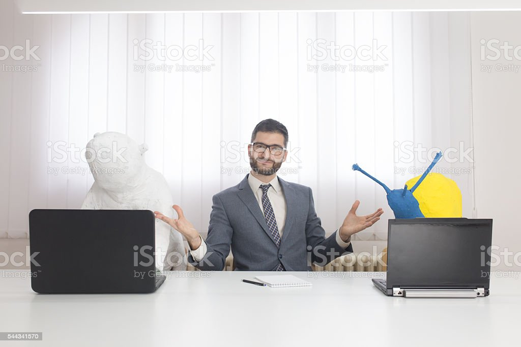 My esteemed colleagues stock photo