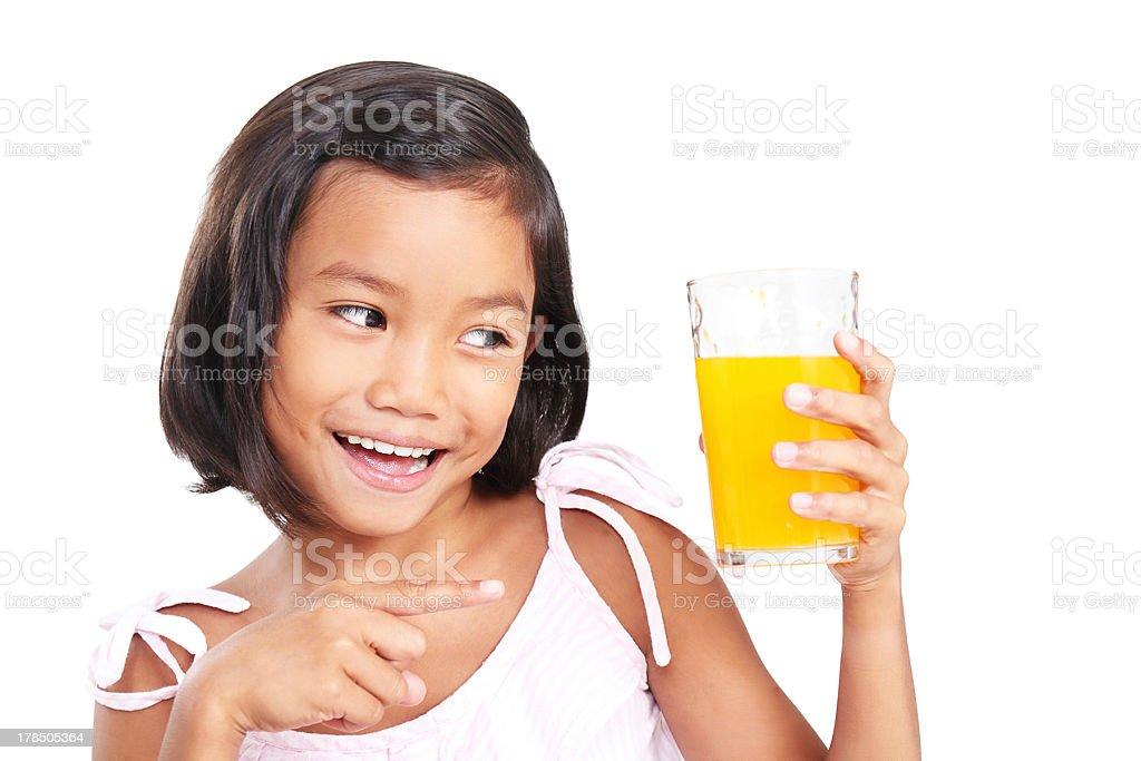 My Favorite Orange Juice royalty-free stock photo