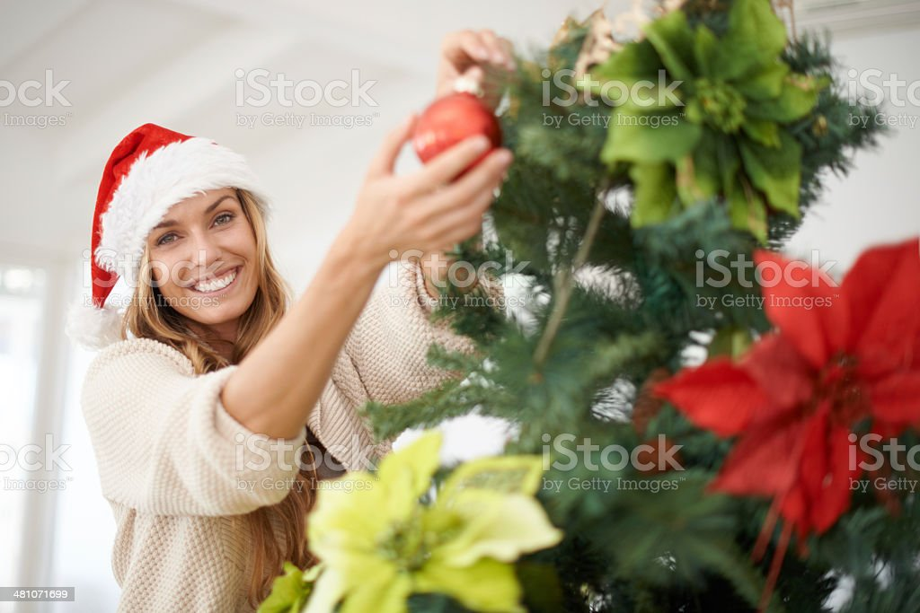 My favorite part of the holiday stock photo