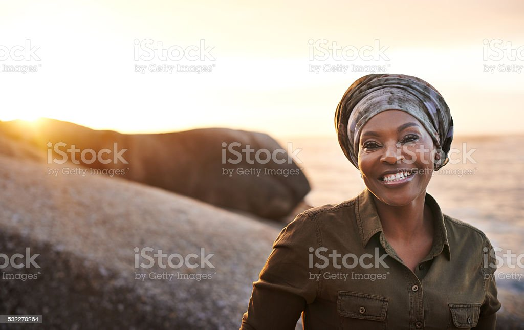 My favorite place to be on the weekend stock photo