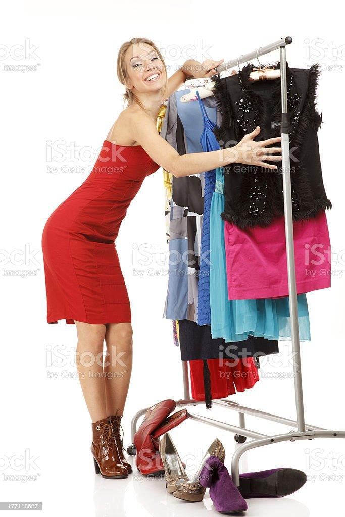 My favorite wardrobe! royalty-free stock photo