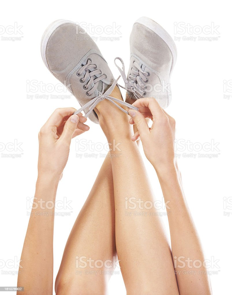 My favourite footwear royalty-free stock photo