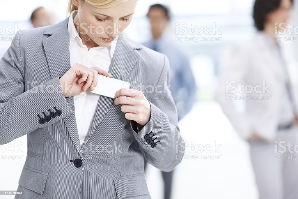 My first day on the job stock photo
