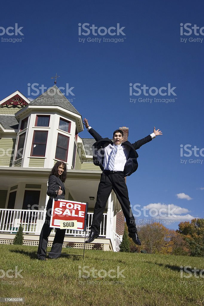 My first home! royalty-free stock photo