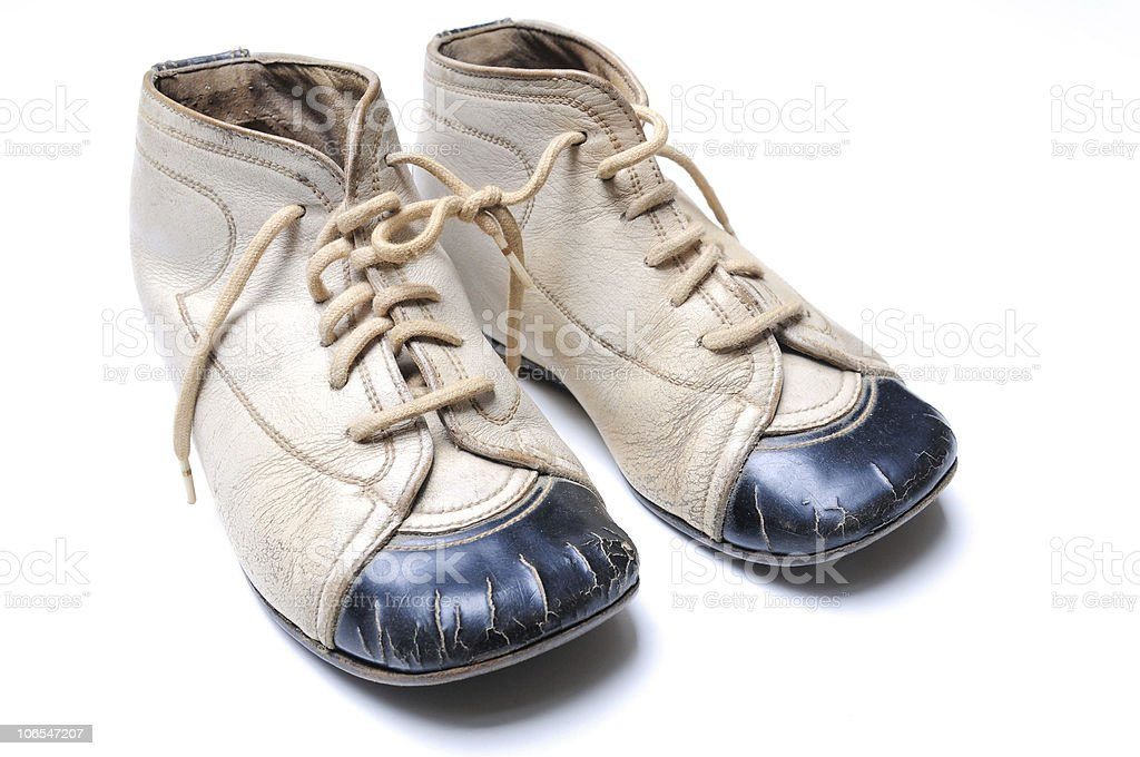 My first shoes royalty-free stock photo