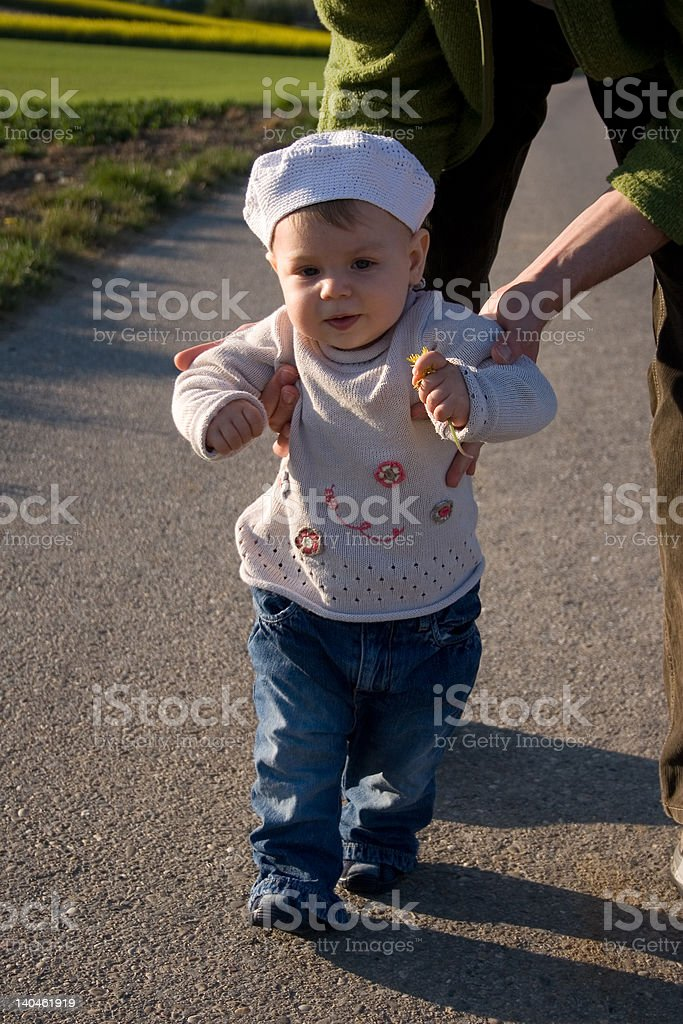 My First Steps stock photo