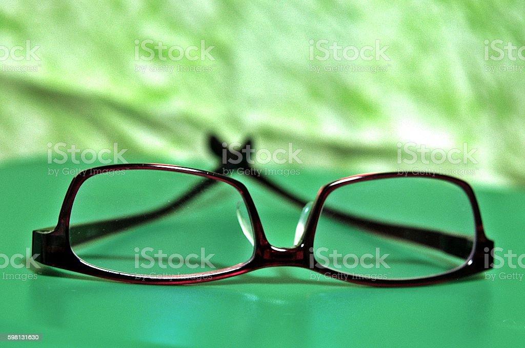 My glasses frames stock photo