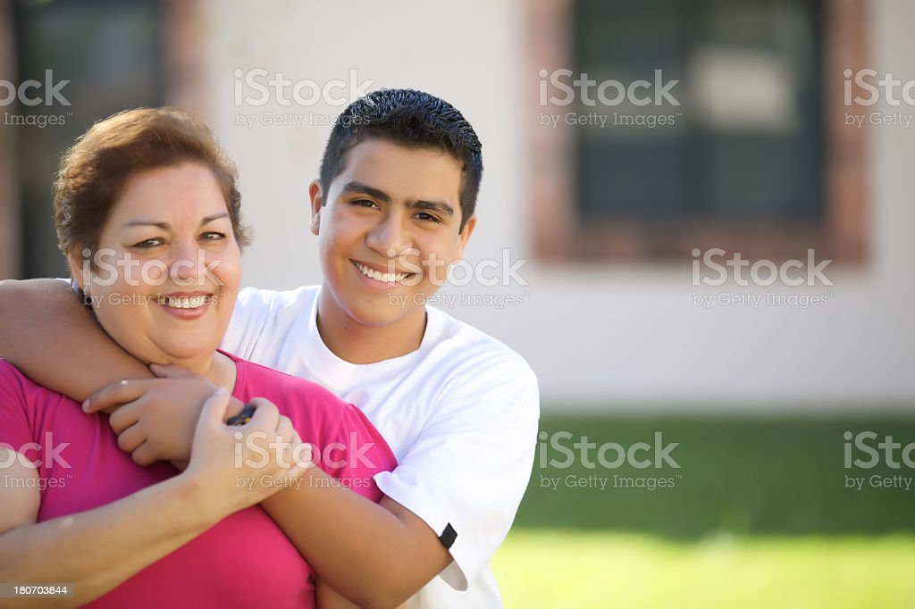 My grand mother royalty-free stock photo