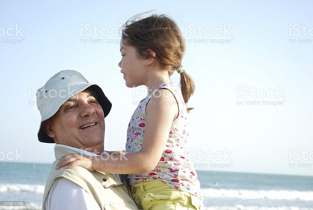 My grandaugther royalty-free stock photo