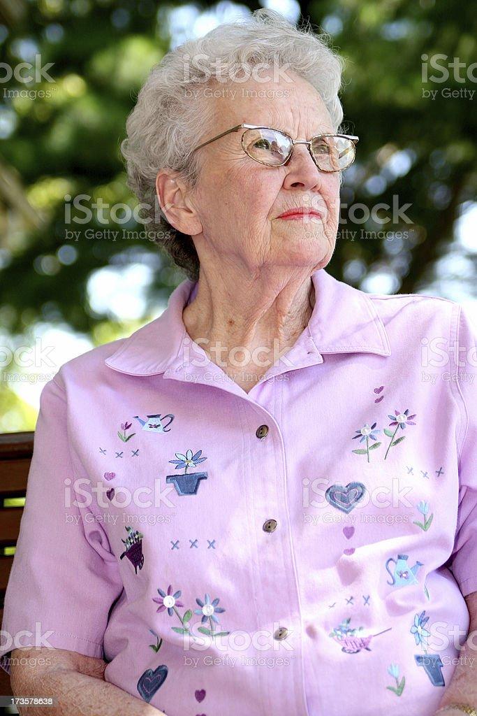 My Grandma. stock photo